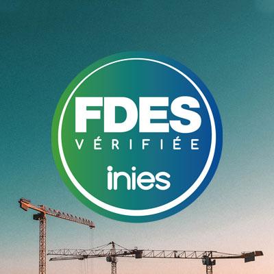 La gamme de rupteurs de ponts thermiques Slabe a ses propres FDES téléchargeables sur le site.