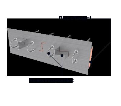 Découvrez les éléments qui composent notre boîtier isolant structurel
