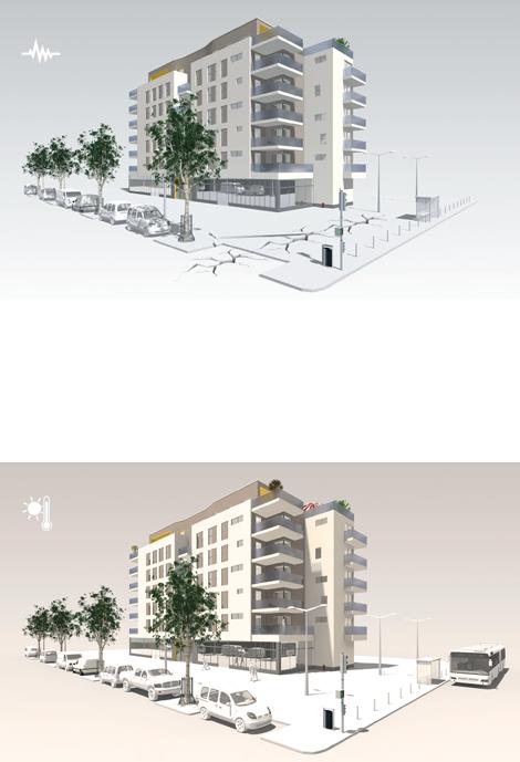Découvrez comment le Z du rupteur thermique Slabe réagit aux efforts dynamiques comme la dilatation thermique des façades.