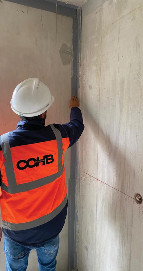 En confiant votre projet à COHB Industrie, vous vous assurez d'un accompagnement vous garantissant la pérennité de votre projet.