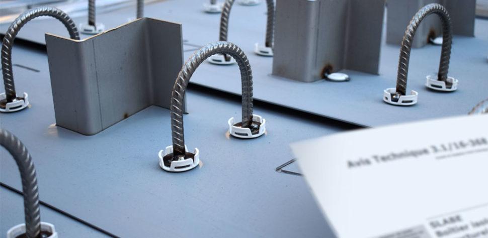Découvrez l'avis technique du CSTB de la gamme de rupteurs de ponts thermiques Slabe.
