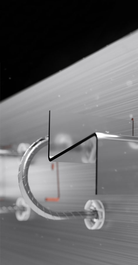 Avec la nouvelle version du Slabe, les efforts structurels dynamiques sont repris par la technologie Z-ZN.