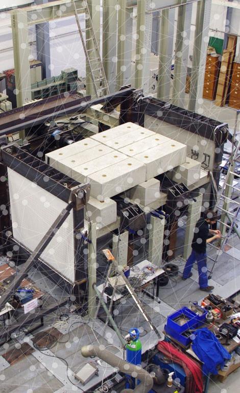 Notre solution structurelle et thermique Slabe a été testée à l'aide de bancs d'essais.