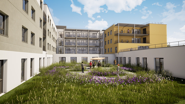 Hôpital Josselin - Architecte : CoMPERE & Cie