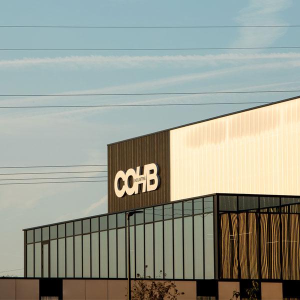 Découvrez les locaux de COHB Industrie situés à proximité de Rennes en Bretagne.