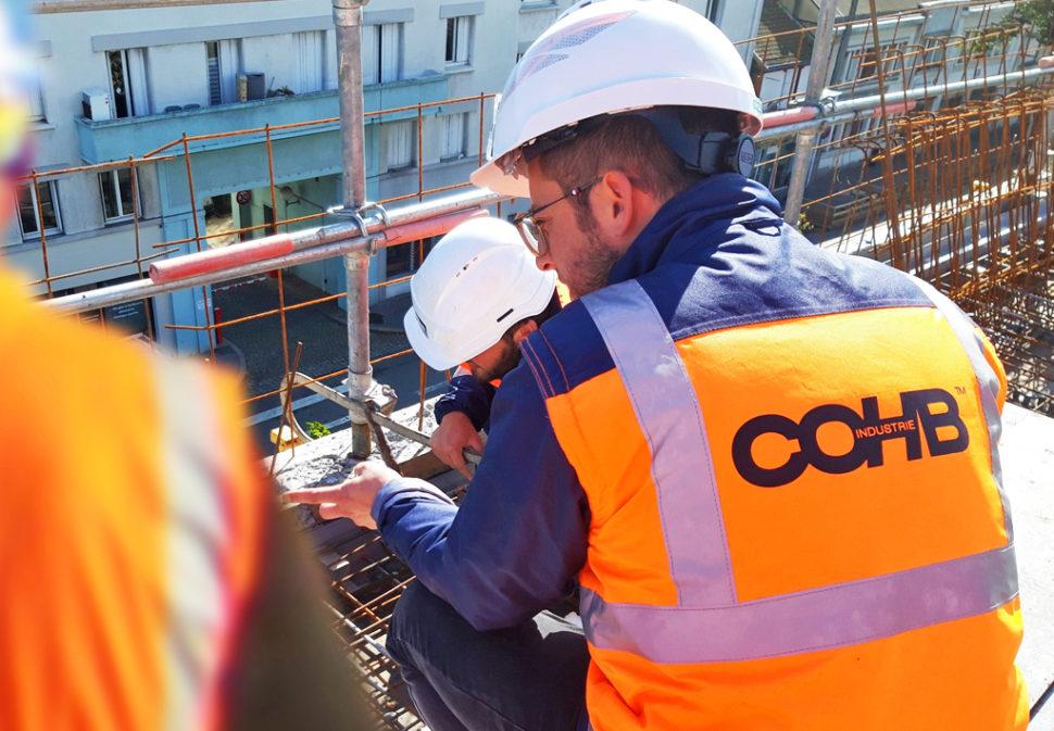 Découvrez comment mettre en œuvre le rupteur de ponts thermiques Slabe sur chantier.