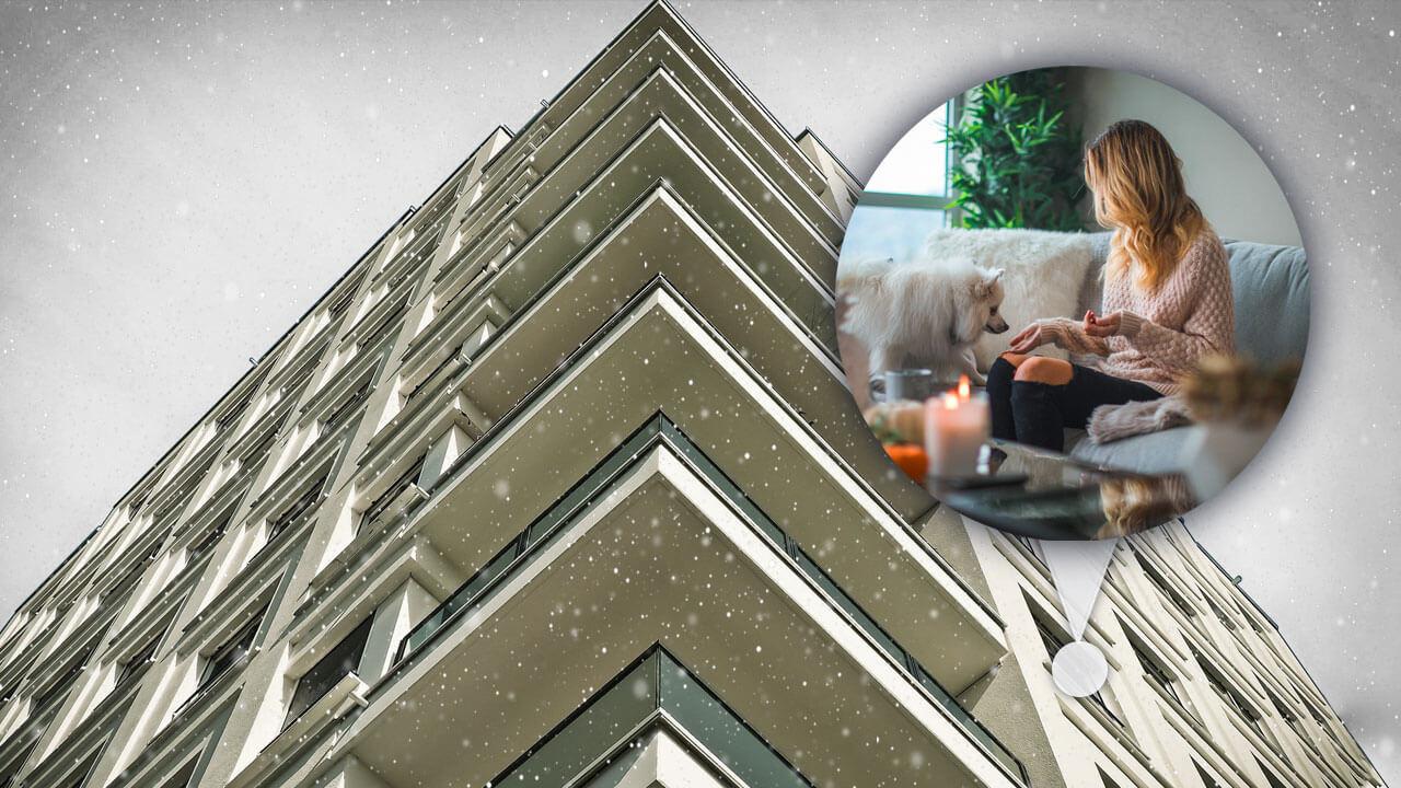 La résistance thermique d'un bâtiment est sa capacité à retenir la chaleur à l'intérieur.