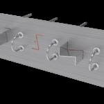Rupteur de ponts thermiques en zone sismique