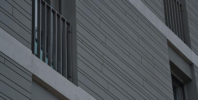 La majorité des bâtiments en béton armé sont isolés thermiquement par l'intérieur